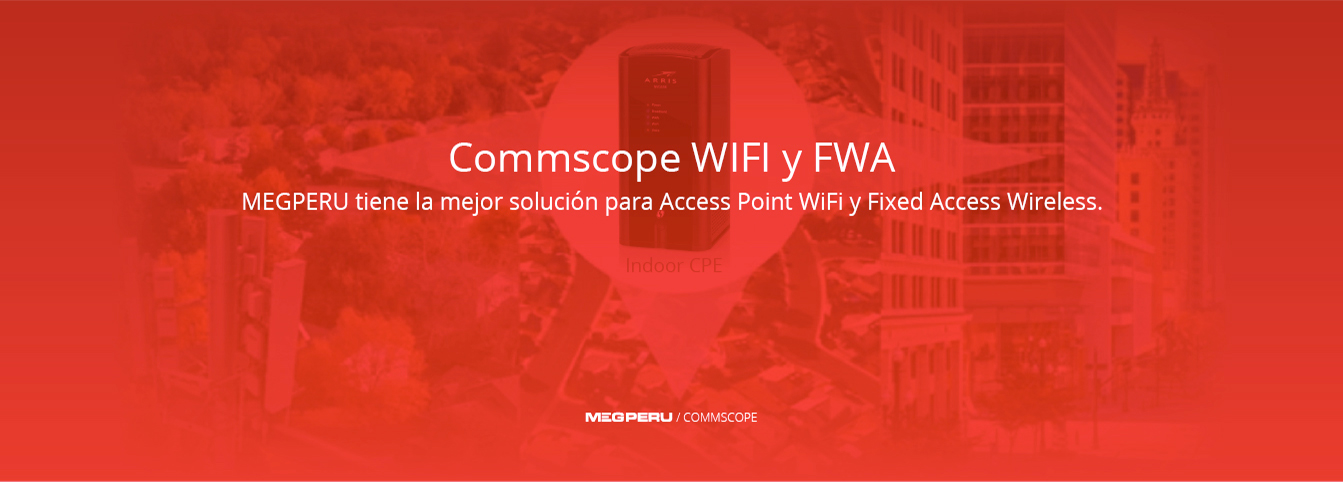 Commscope WiFi y FWA