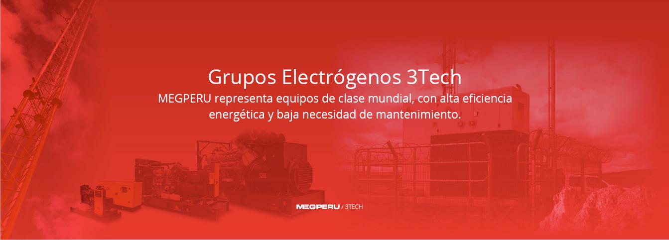 Grupos Electrógenos 3Tech