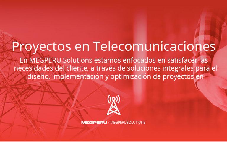 Proyectos en Telecomunicaciones