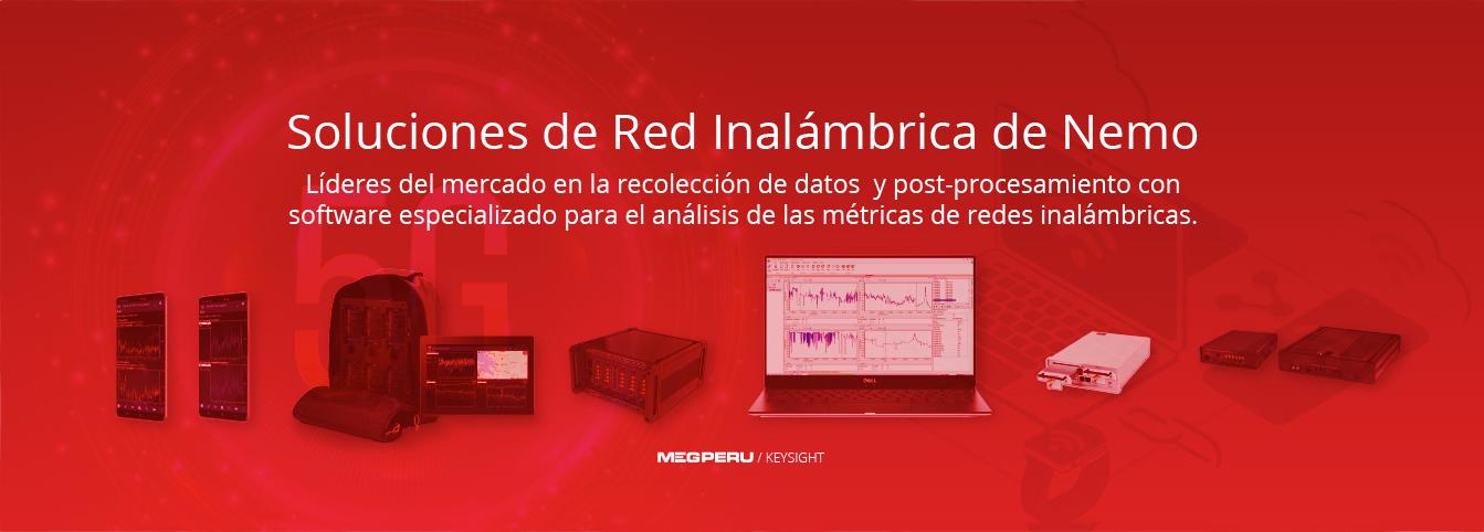 Soluciones de Red inalambrica Keysight