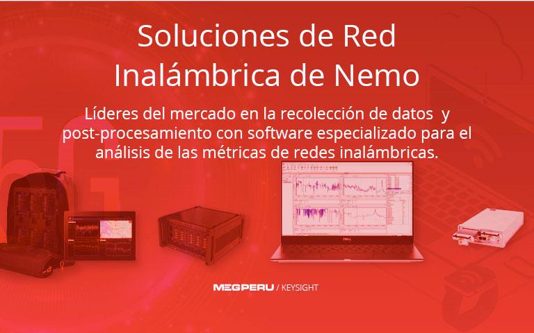 Soluciones de Red Inalámbrica de Nemo