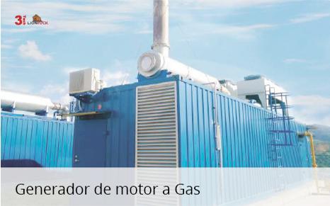 Generador de Motor a Gas