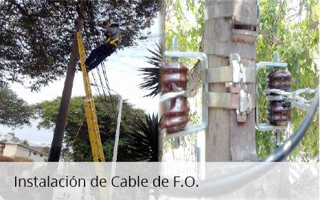 Instalación de Cable de FO
