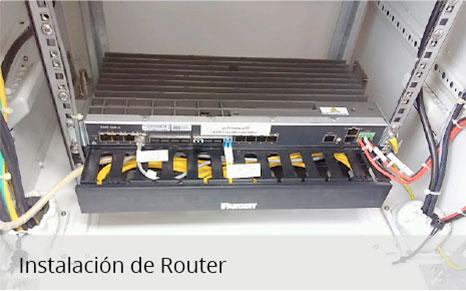 Instalación de Router