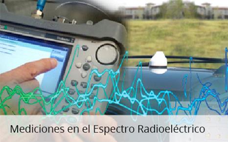 Mediciones en el espectro radioeléctrico