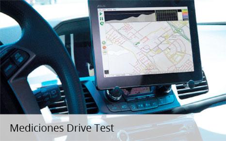 Mediciones de Drive Test