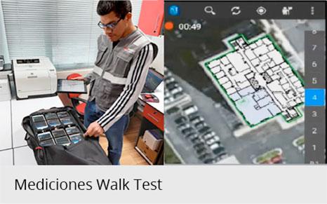 Mediciones Walk Test