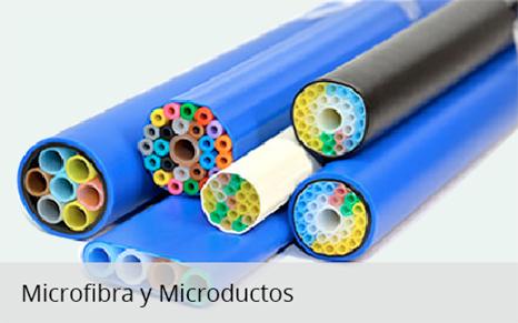 Microfibra y microductos