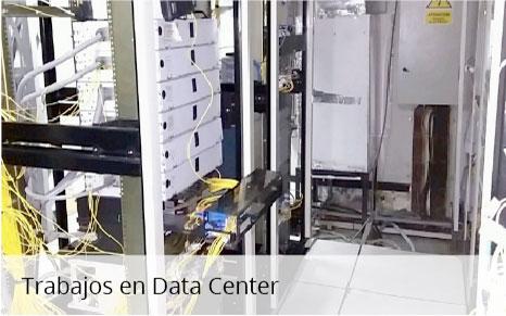 trabajos en data center